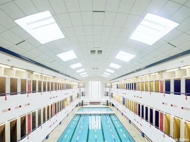 piscine Château Landon