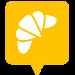 Icône boulangerie placée sur la carte de l'application Mappiness